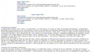 Exemple de code LaTeX