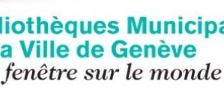 Logo des Bibliothèques municipales de la ville de Genève